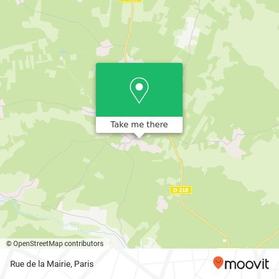 Mapa Rue de la Mairie