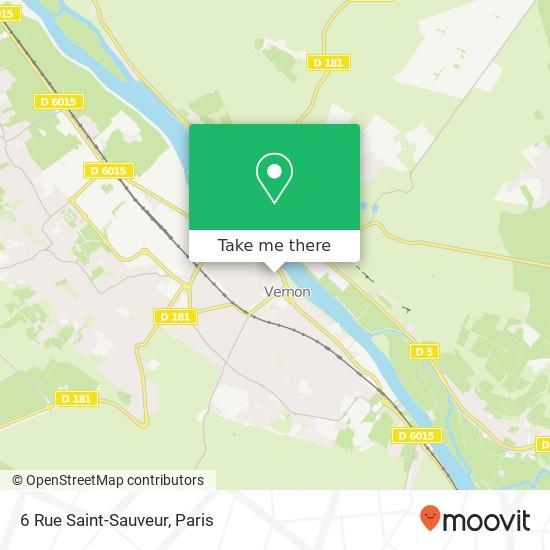 6 Rue Saint-Sauveur map