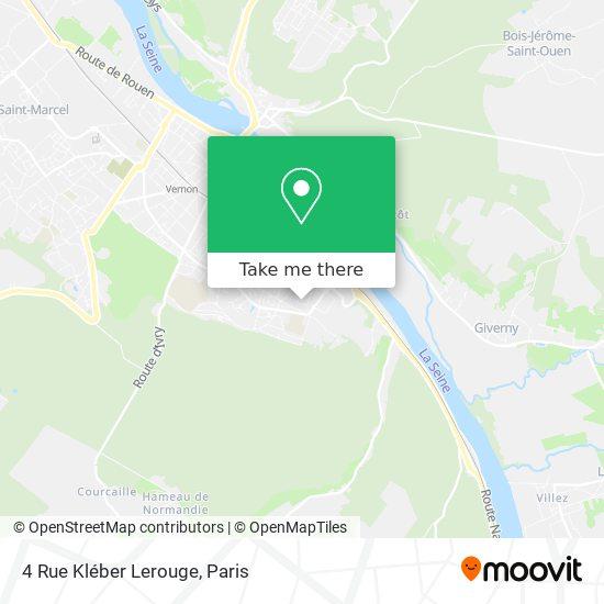 4 Rue Kléber Lerouge map