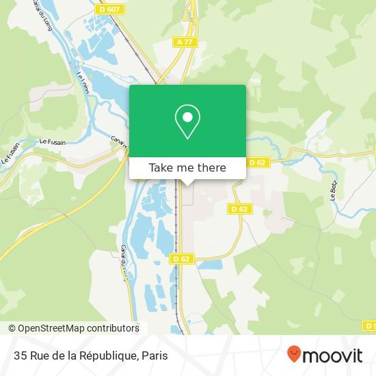 35 Rue de la République map