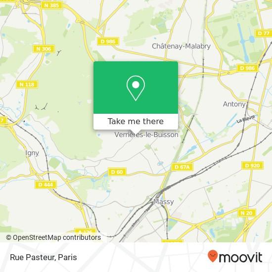 Mappa Rue Pasteur