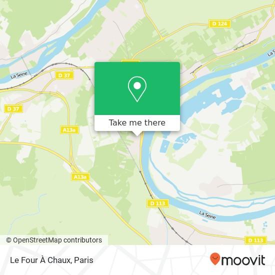 Mappa Le Four À Chaux