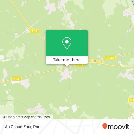 Mapa Au Chaud Four