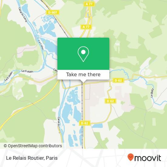 Mapa Le Relais Routier