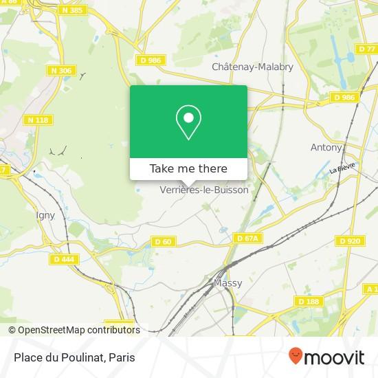 Mappa Place du Poulinat