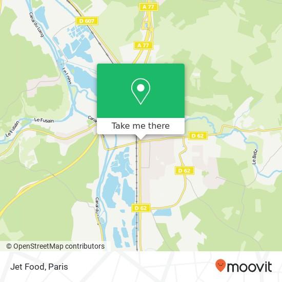 Mappa Jet Food
