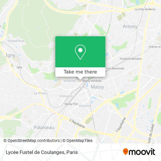 Lycée Fustel de Coulanges map