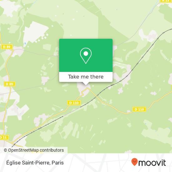 Mappa Église Saint-Pierre