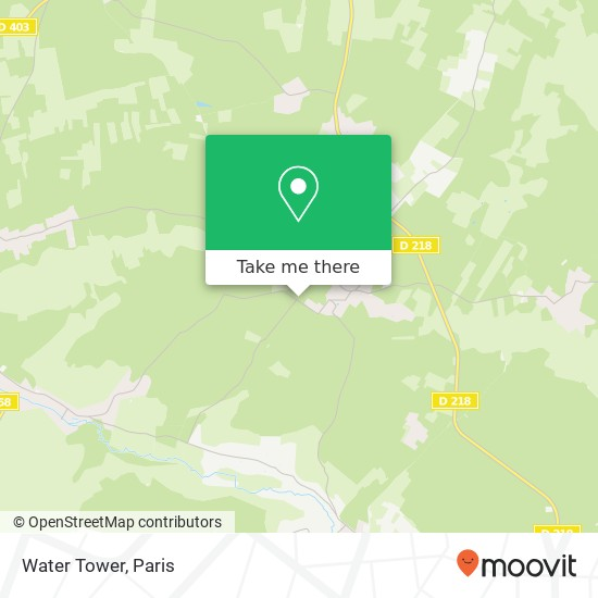 Mapa Water Tower