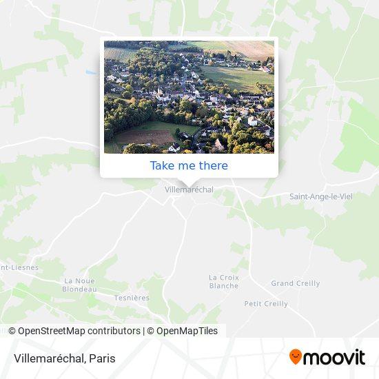 Mapa Villemaréchal