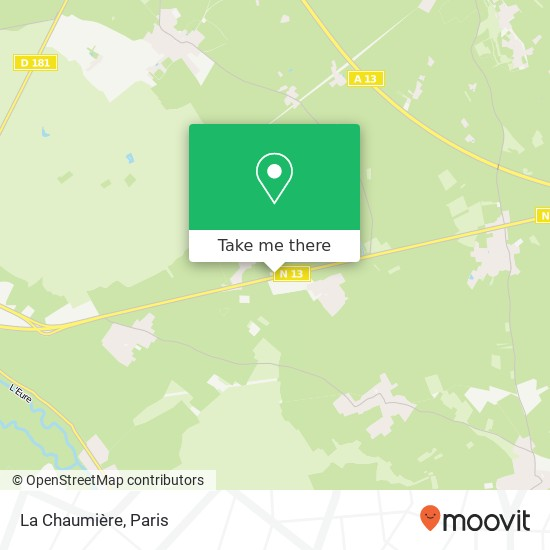 Mappa La Chaumière