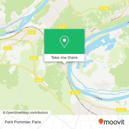 Petit Pommier map