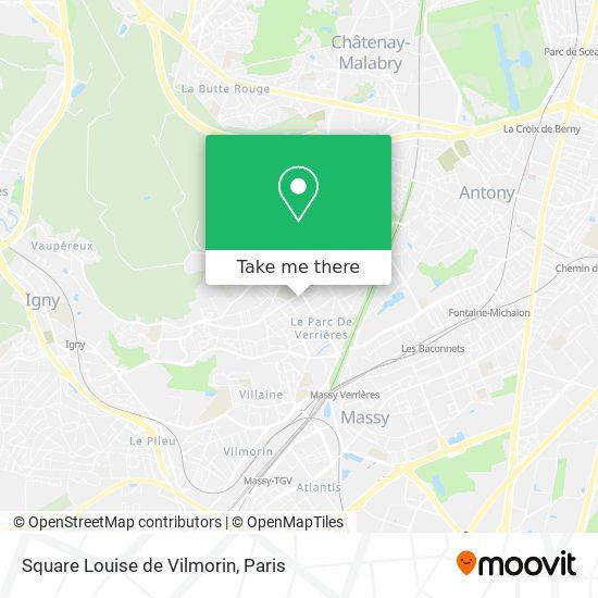 Mappa Square Louise de Vilmorin