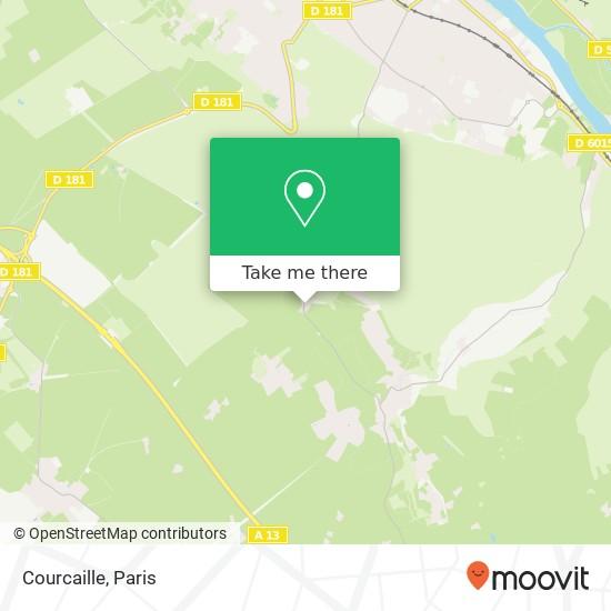 Mapa Courcaille