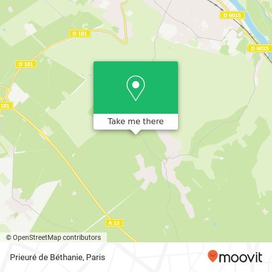 Mapa Prieuré de Béthanie