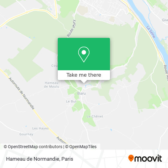 Mappa Hameau de Normandie