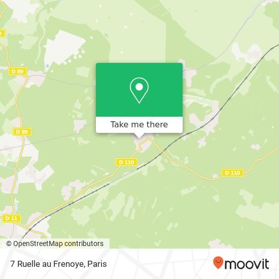Mappa 7 Ruelle au Frenoye