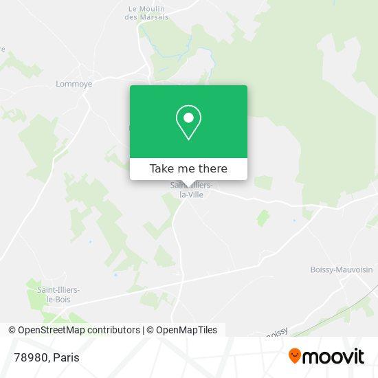 Mapa 78980