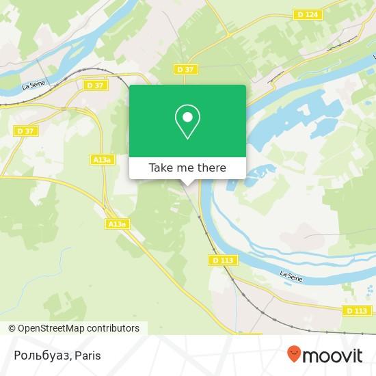 Рольбуаз mapa
