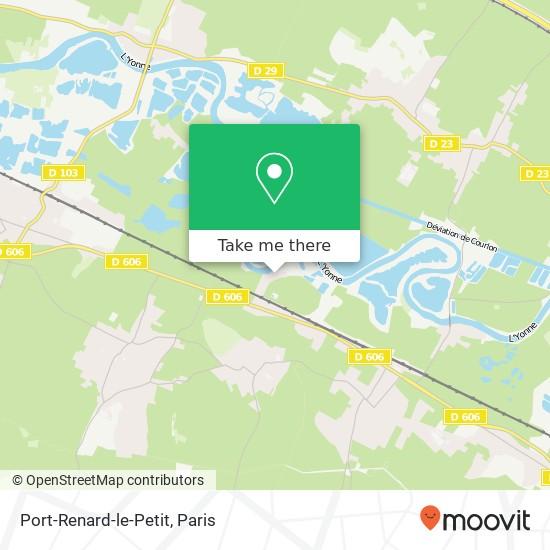 Mapa Port-Renard-le-Petit