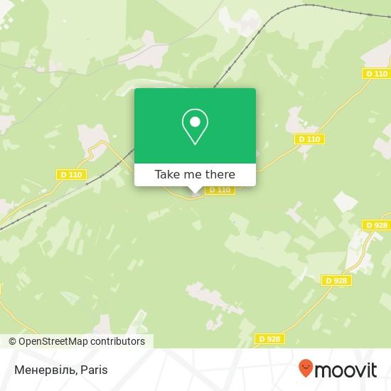 Mappa Менервіль