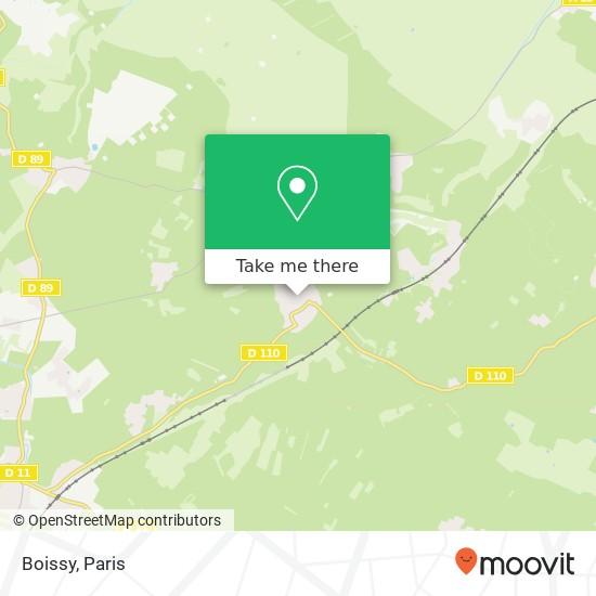 Mappa Boissy