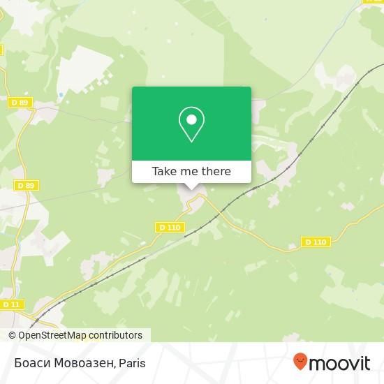 Mappa Боаси Мовоазен