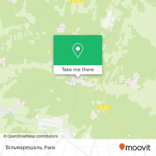 Mapa Вільмарешаль