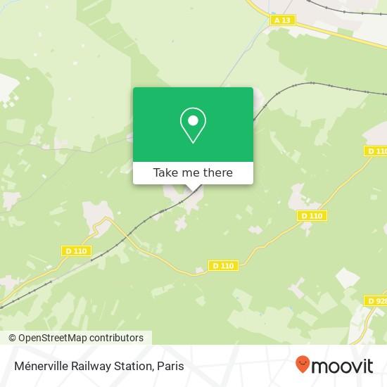 Ménerville Railway Station mapa