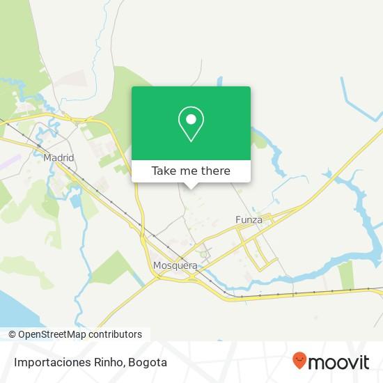 Importaciones Rinho map
