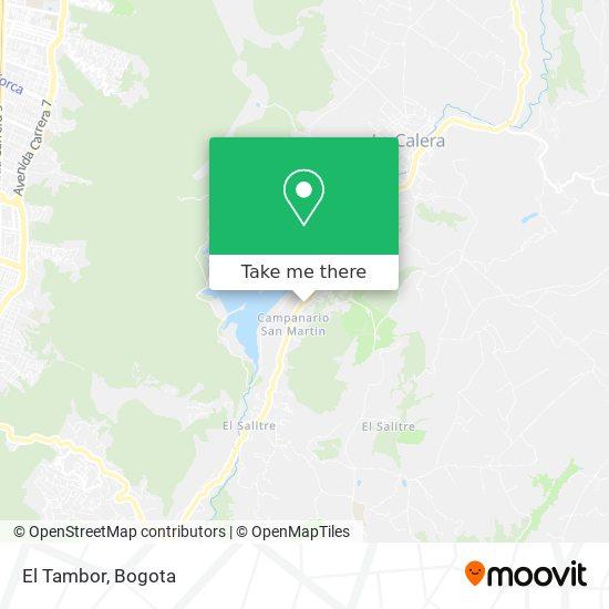 El Tambor Restaurante map