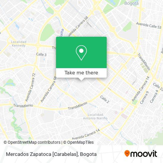 Mercados Zapatoca [Carabelas] map