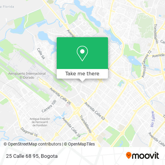25 Calle 68 95 map