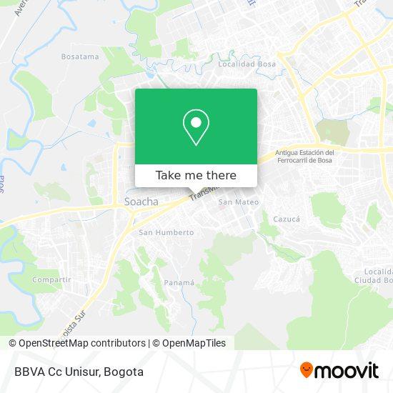 BBVA Cc Unisur map