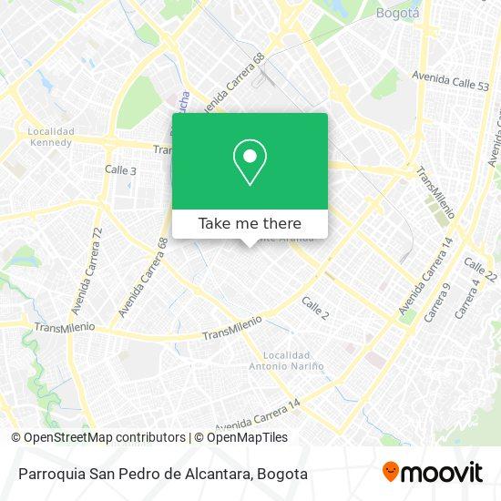 Parroquia San Pedro de Alcantara map