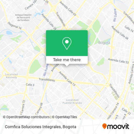 Comfica Soluciones Integrales map