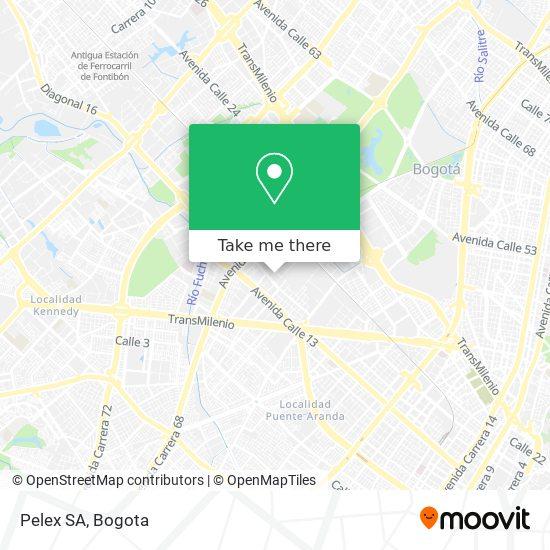 Pelex SA map