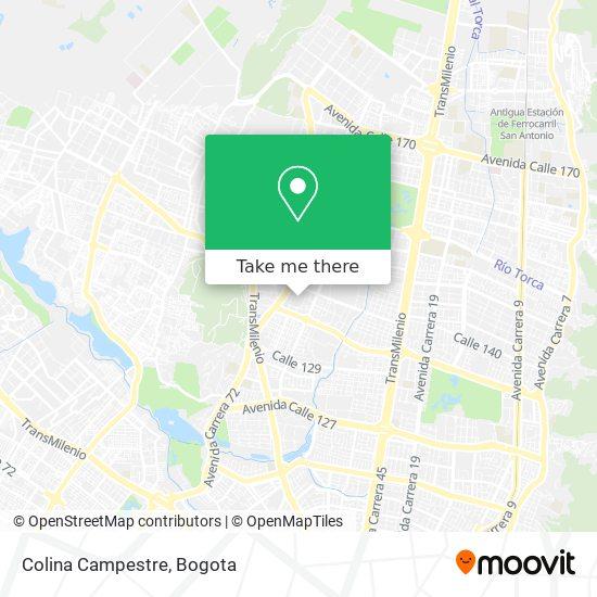 Colina Campestre map