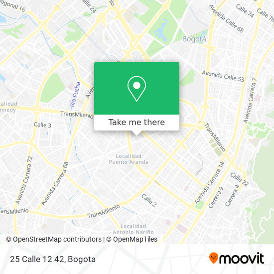 25 Calle 12 42 map