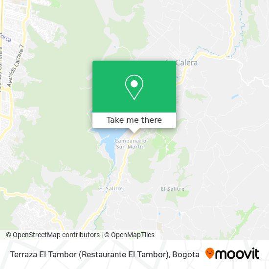 Terraza El Tambor (Restaurante El Tambor) map