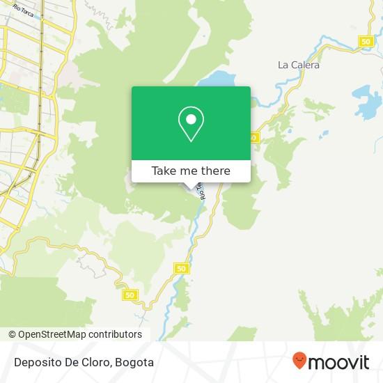 Deposito De Cloro map