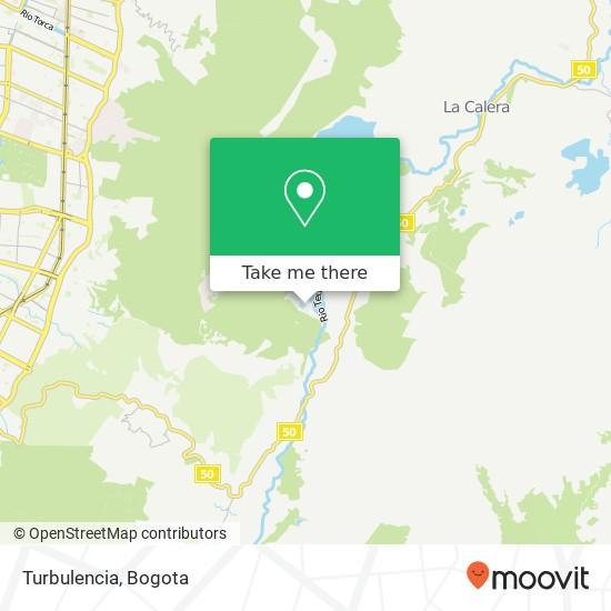Turbulencia map