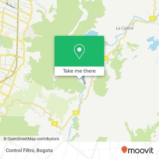 Control Filtro map