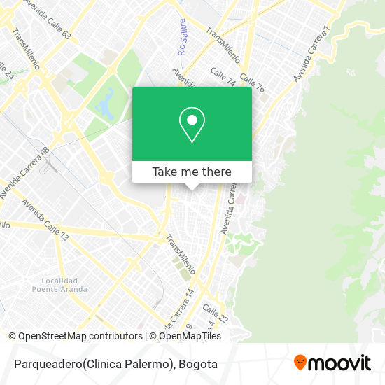 Parqueadero(Clínica Palermo) map