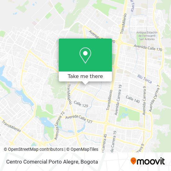 Centro Comercial Porto Alegre map