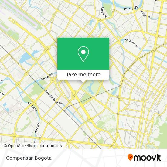 Compensar map