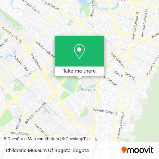 Parque De Los Niños map