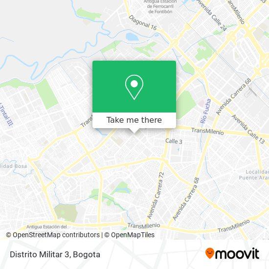 Distrito Militar 3 map