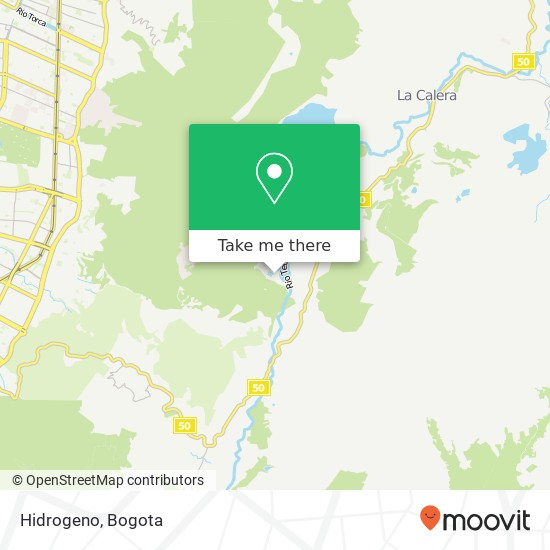 Hidrogeno map
