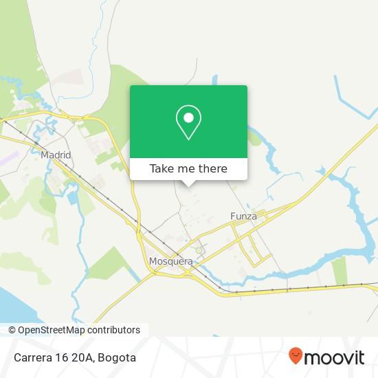 Carrera 16 20A map